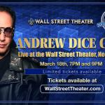Andrew Dice Clay at The Wall St. Theater
