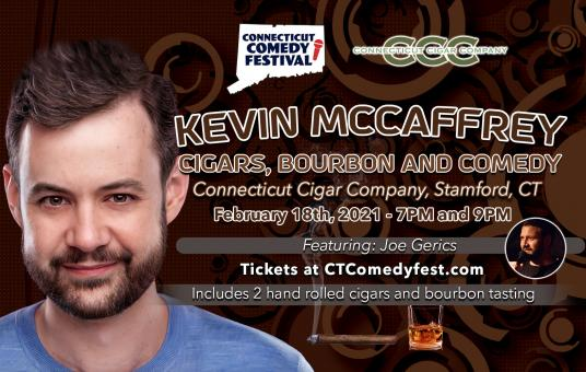 Cigars, Bourbon and Comedy with Kevin McCaffrey
