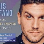 Chris Distefano at The Wall St. Theater LIVE STREAM